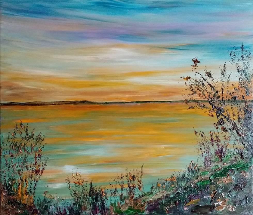 'Abendsonne' von  Kathrin Thesenvitz