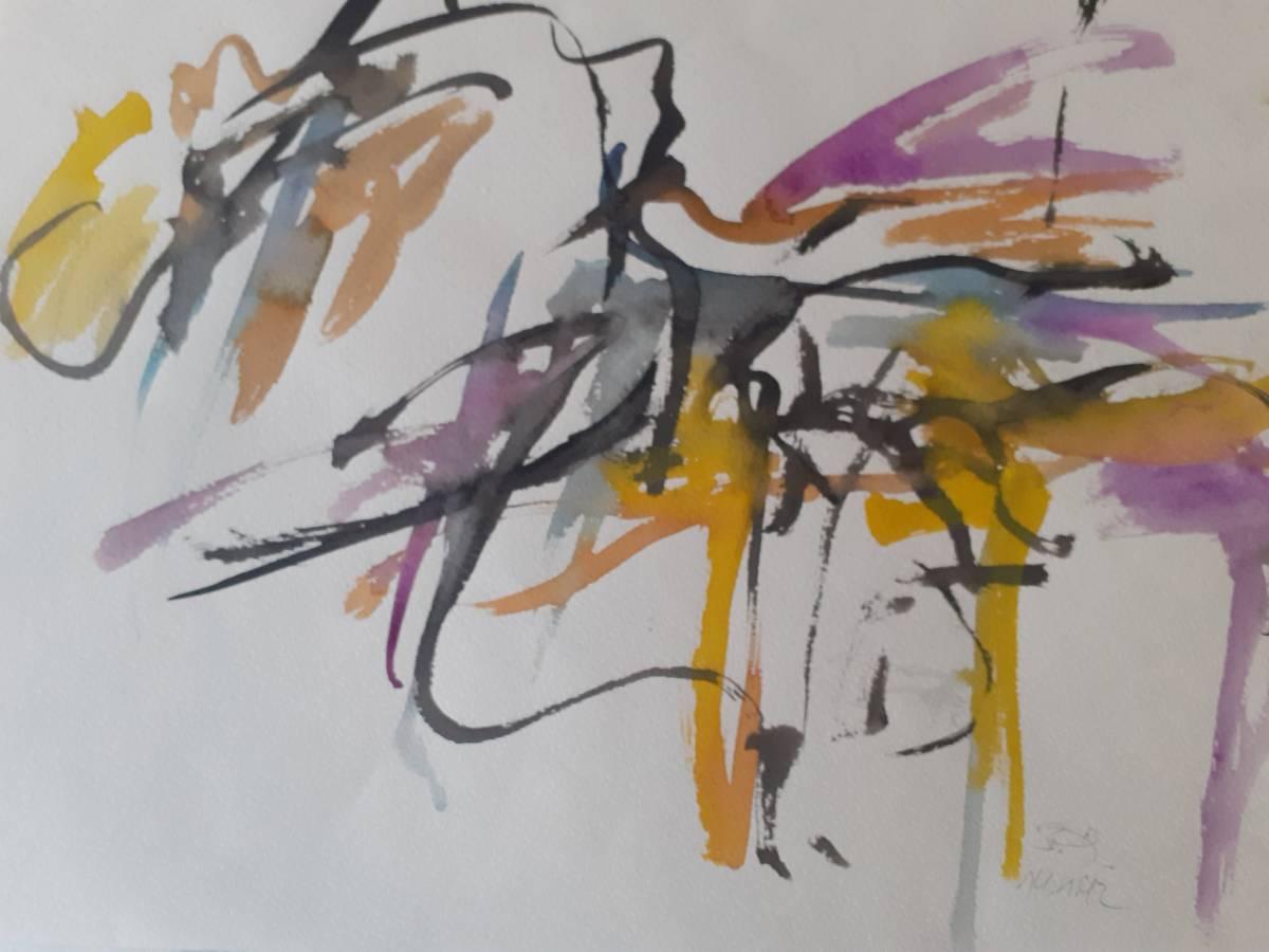 'Linienspiel' von  Kunstfreund