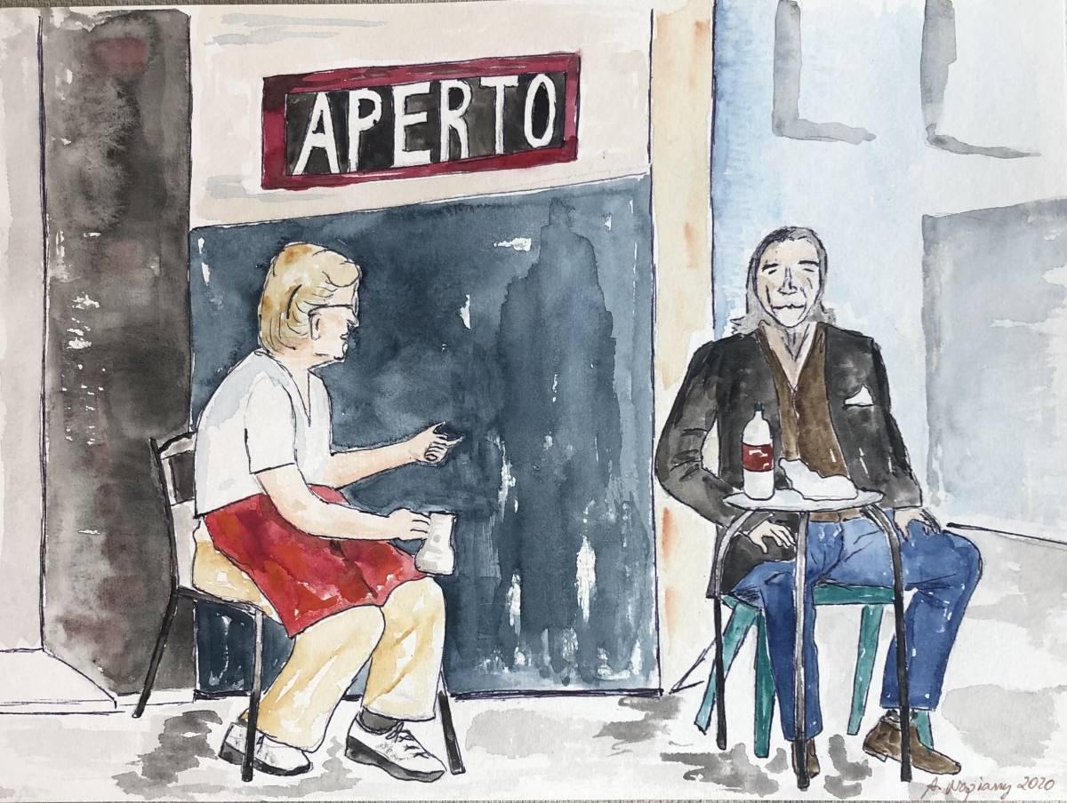 'Geöffnet' von  Anja Napiany