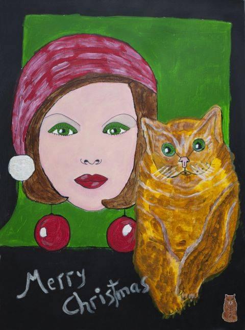 'Merry Christmas' von  anne phillips