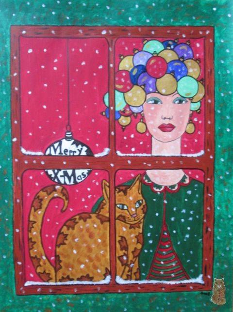 'waiting for Santa' von anne phillips
