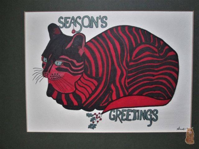 'Season;s greetings' von  anne phillips