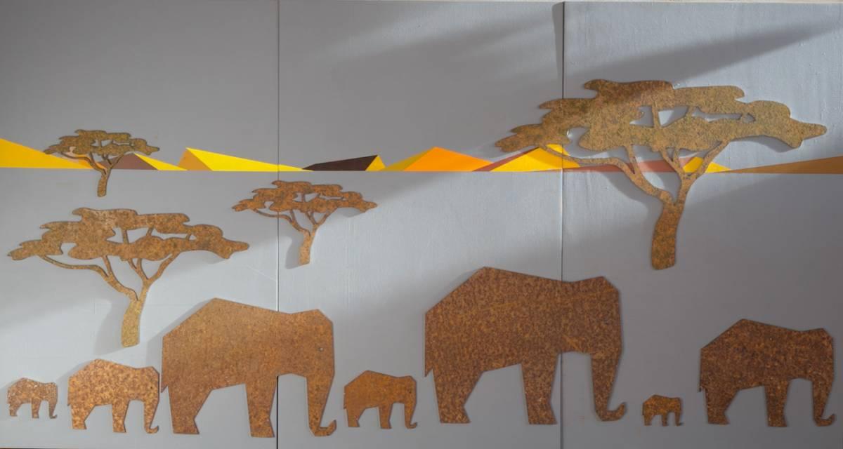 'Elefanten' von  Lutz Peters