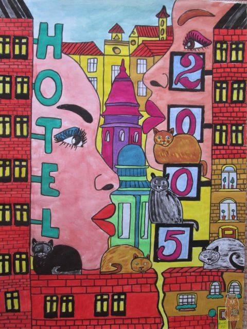 'Hotel 2005' von anne phillips