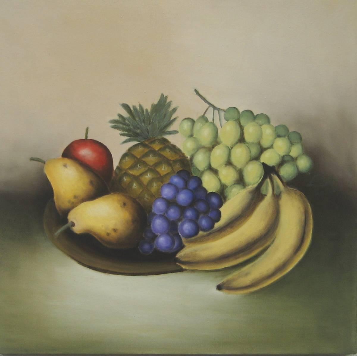 'Nr.209 Teller mit Obst' von  Ev Lautsch