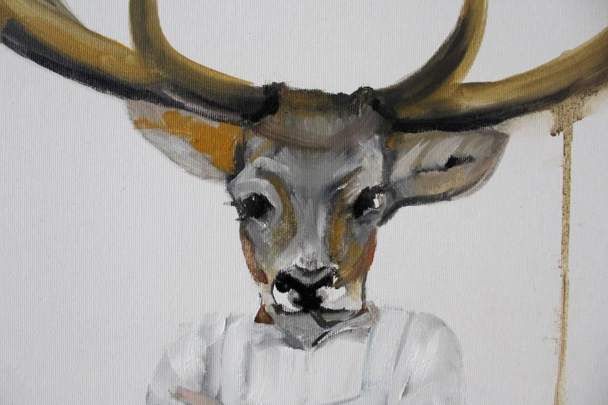 'Platzhirsch 2' von DominikaBlock