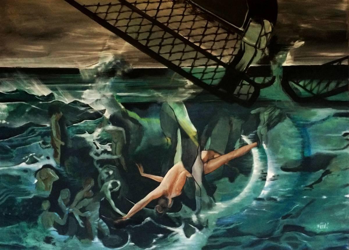'Schwimm' von  DominikaBlock