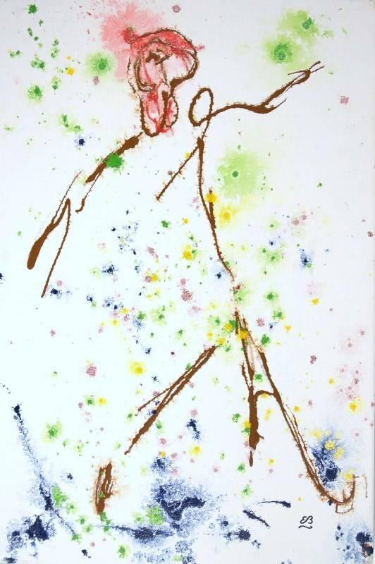 'The dancer' von Erwin Bruegger