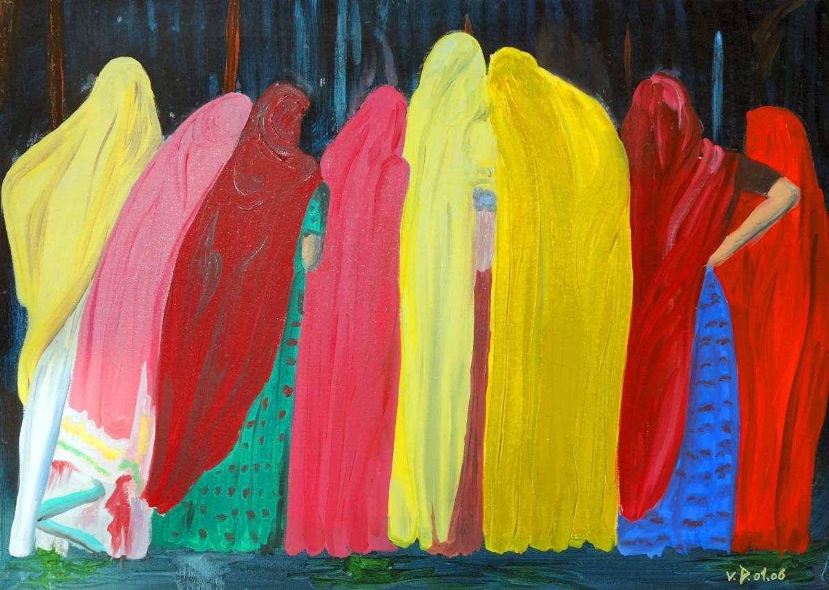 'Indische Frauen' von Franzmaria