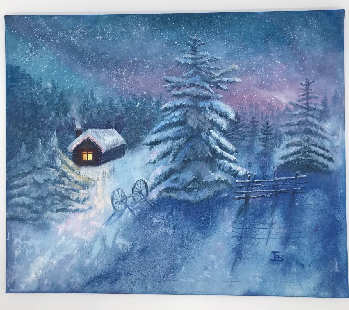 'Winternacht' von  Tatjana