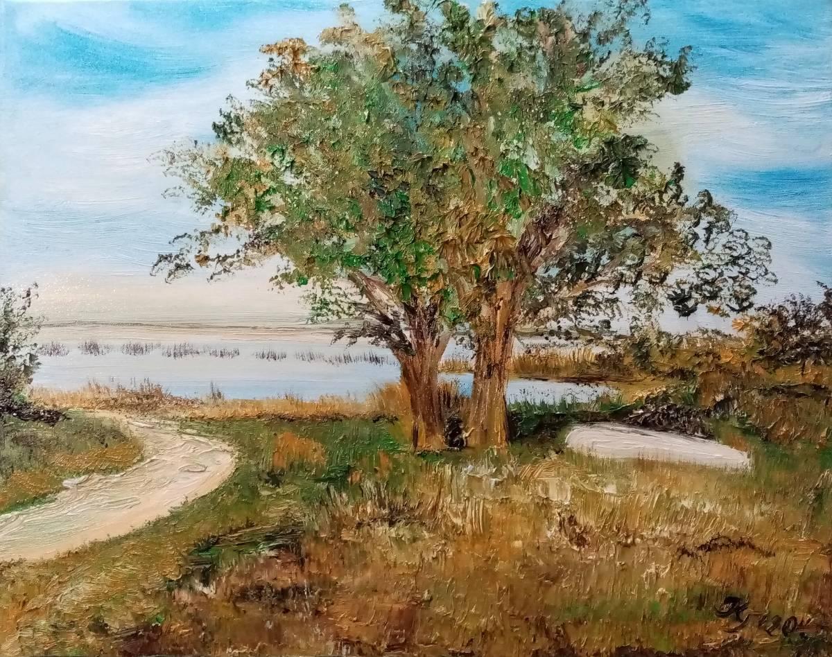'Einsames Boot unter Bäumen' von  Kathrin Thesenvitz