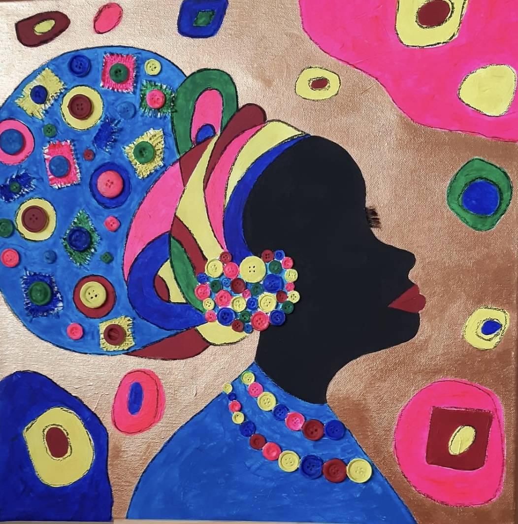 'Afrikanerin' von  swetlanasart