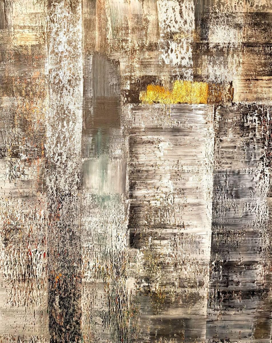 'Strukturart mit Gold' von  Uekoetter