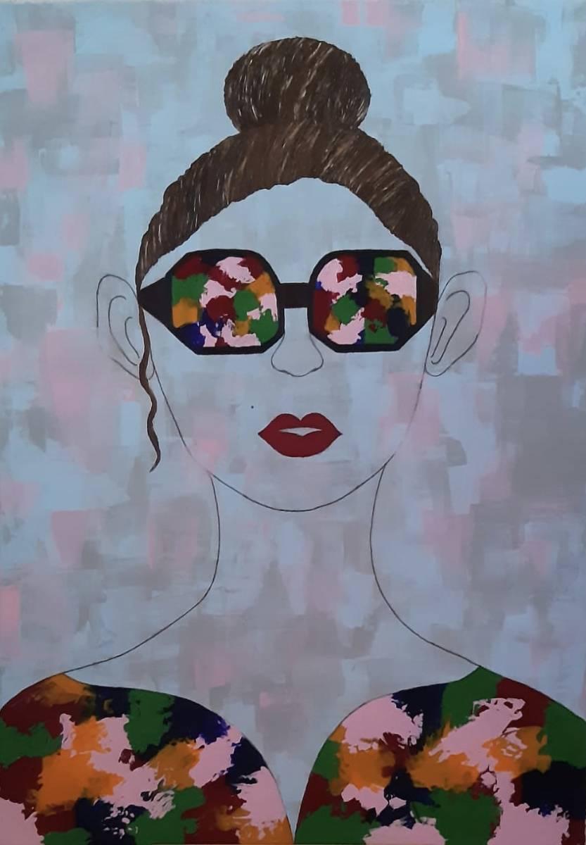 'Dame, Abstrackt' von swetlanasart