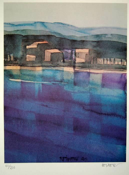 'Lavendel bei Viens (Provence)' von  Reiners Juergen