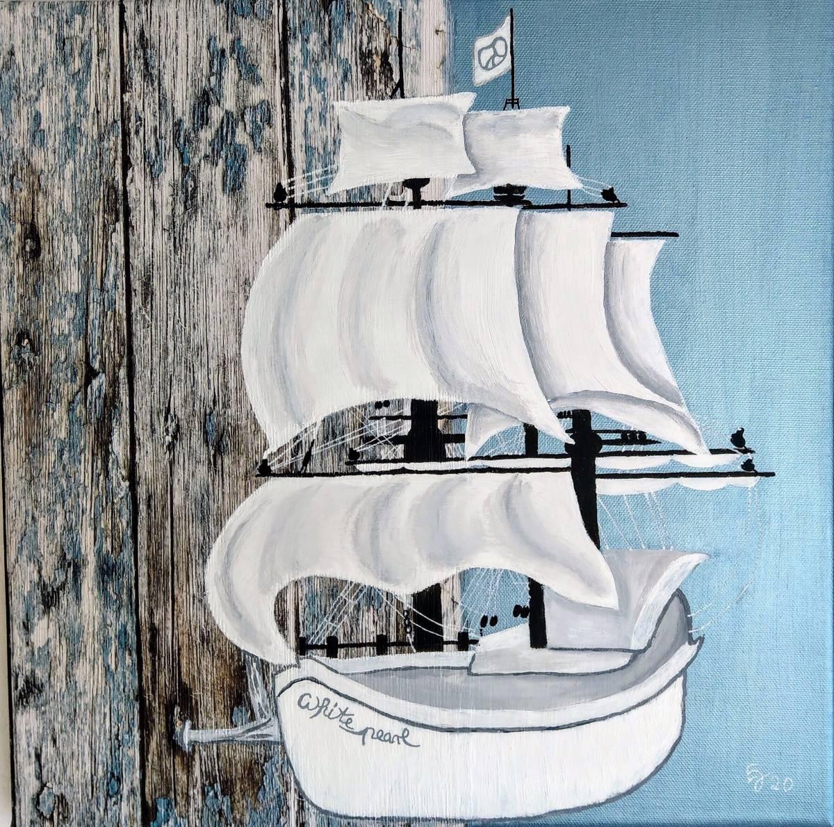 'White Pearl' von  AtelierTraumfinder EstherJanssen