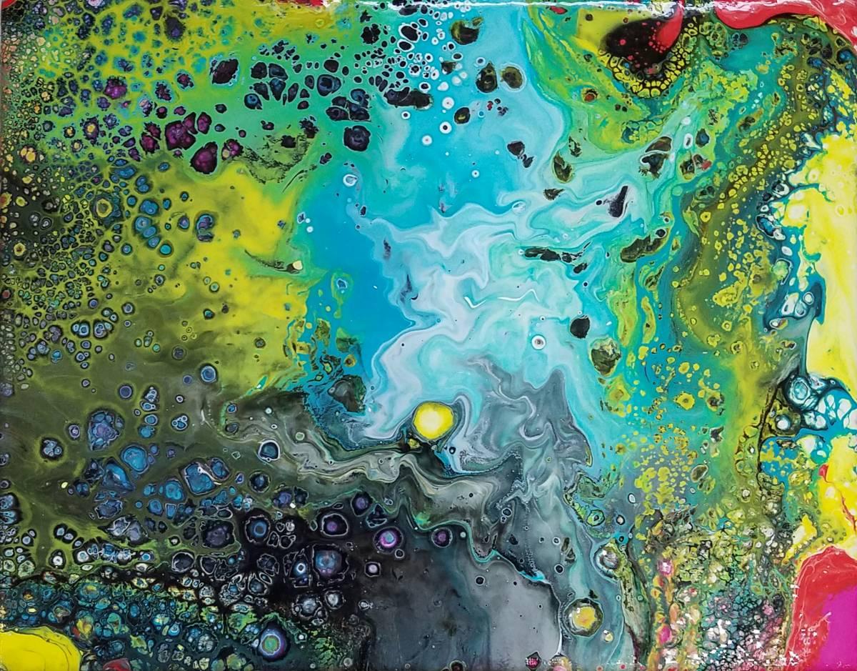 'Bunte Unterwasserwelt' von Ursula Di Chito