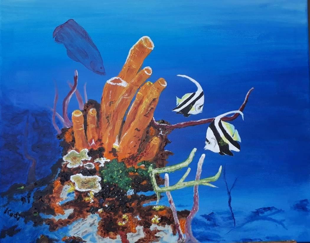 'Korallenriff' von  farbenfreund