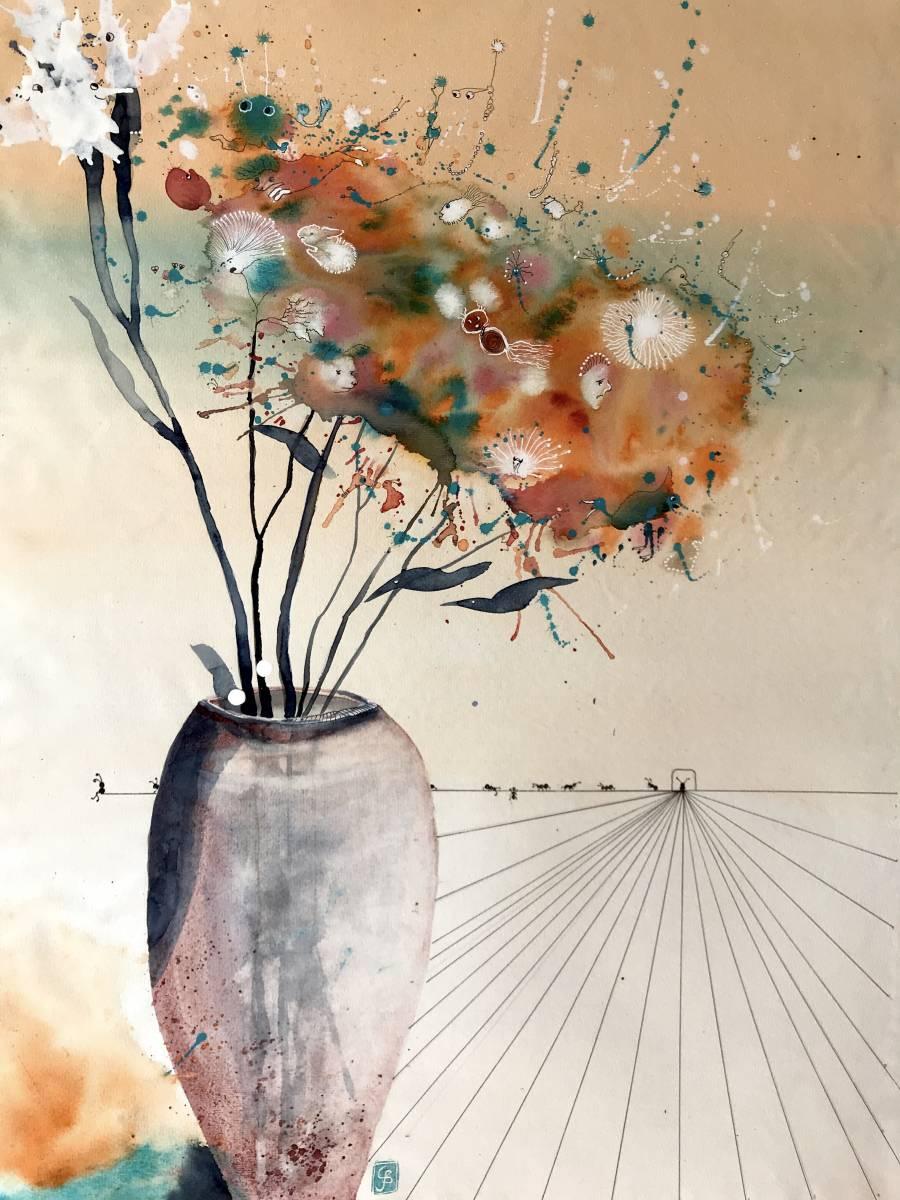 'Blumen...Gespinst' von Susanne Binder