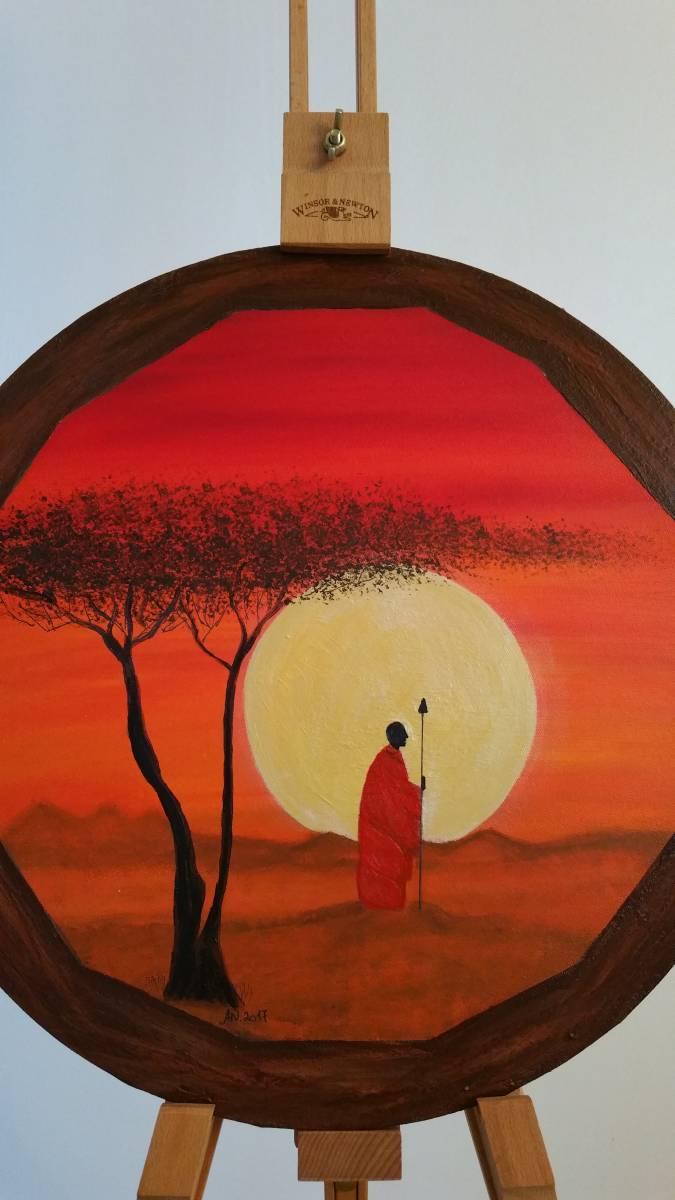 'somewhere in Africa' von Ankes Gallery