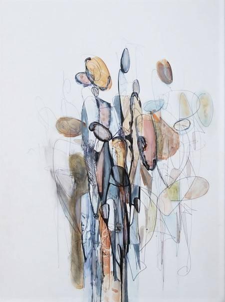 'O.T. | figürliche Komposition' von  Angela Fusenig