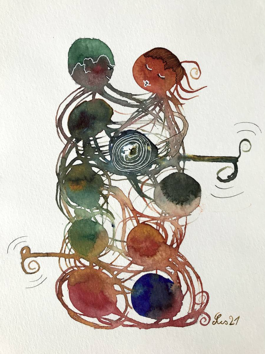 'Tanzendes Paar 1' von  Susanne Binder