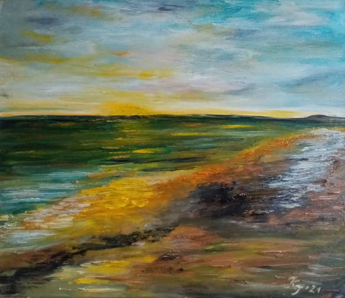 'Morgens am Meer' von Kathrin Thesenvitz