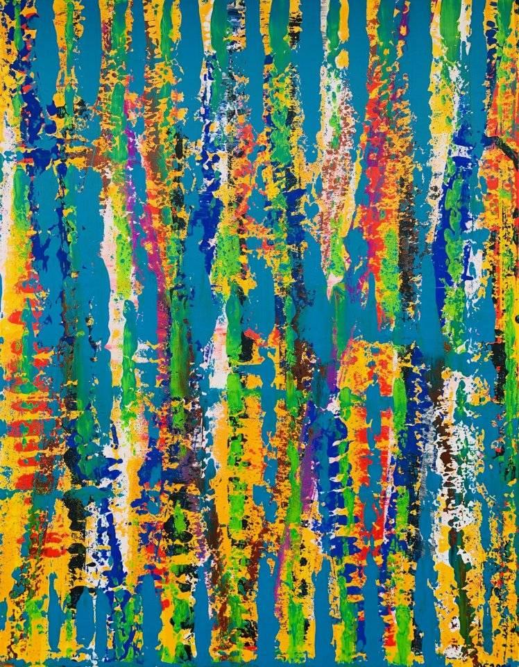 'Blue Conception' von  Volker Franzius