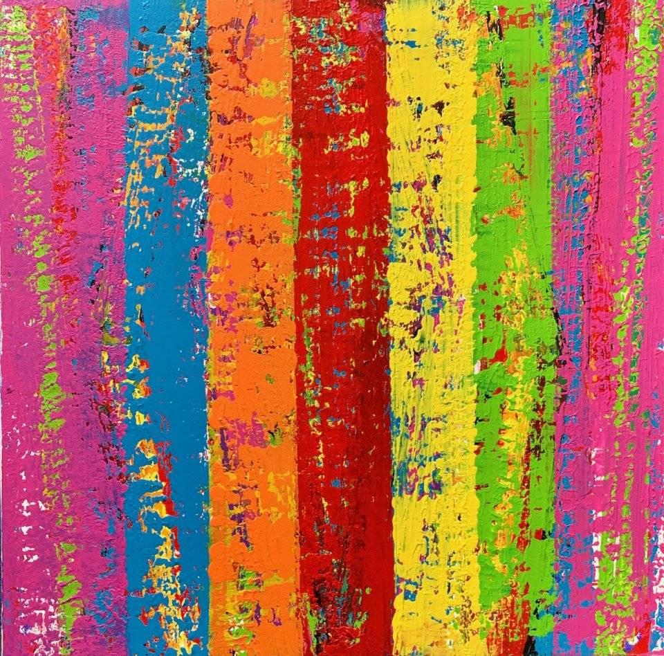 'Colour Grid' von  Volker Franzius
