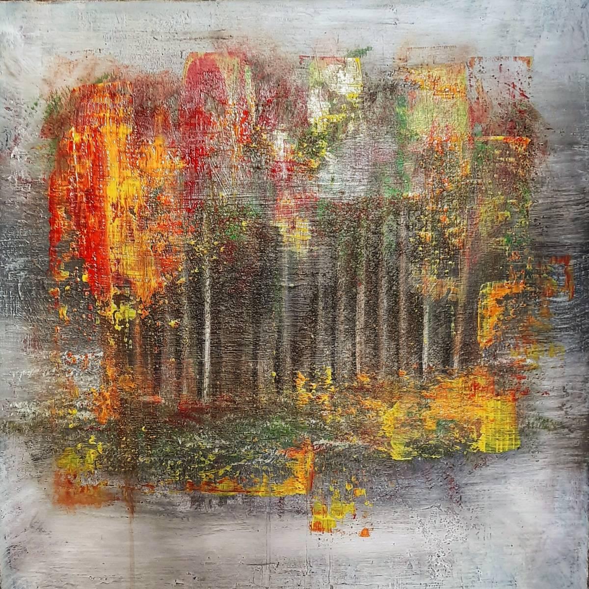 'Im Wald' von  ChristineSchwarzabstrakt