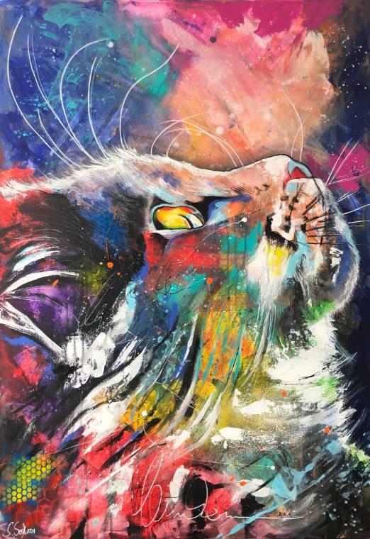'LENI - hochwertiger Kunstdruck' von  Sabrina Seck