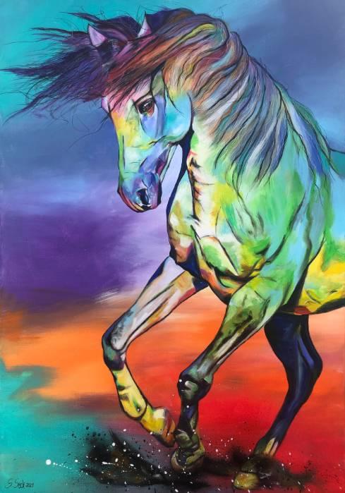 'MELROSE - hochwertiger Kunstdruck' von Sabrina Seck