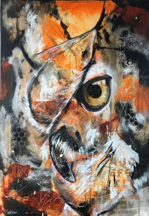 'FREDDY - hochwertiger Kunstdruck' von  Sabrina Seck