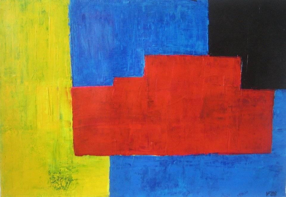 'Rote Mitte' von Volker Franzius