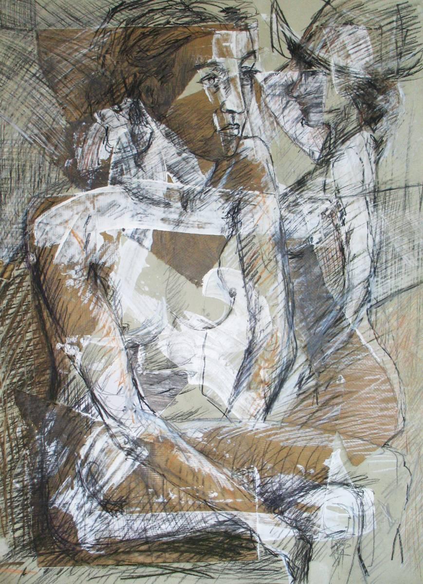 'Akt und Frau mit Hut' von  kiviulma