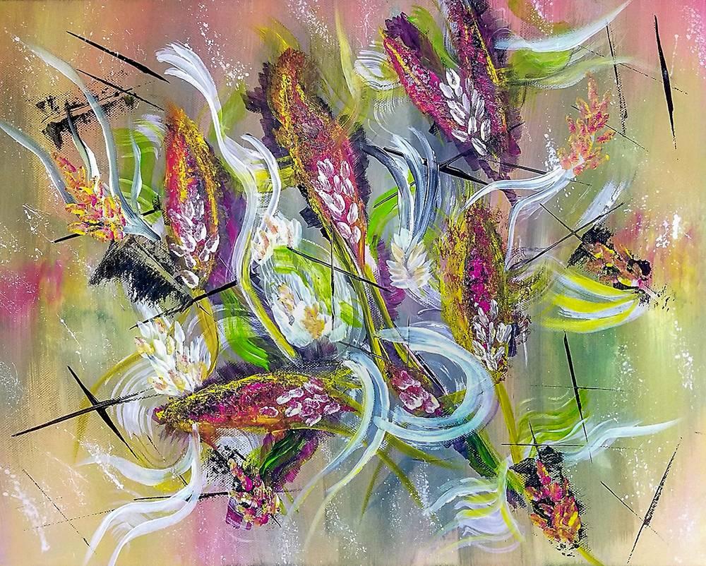 'Tropische Flora' von  Ursula Di Chito