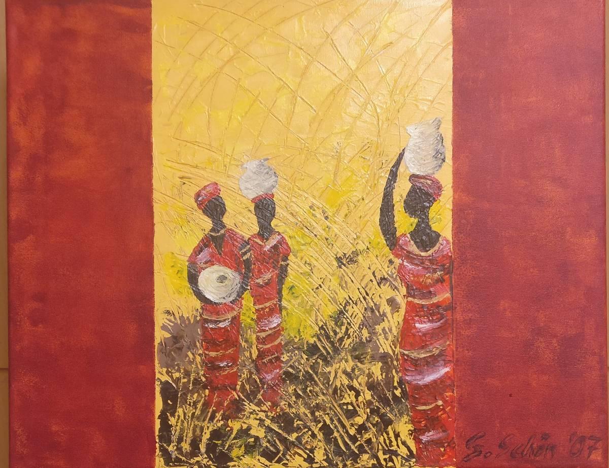 'Afrikanische Frauen' von Simone