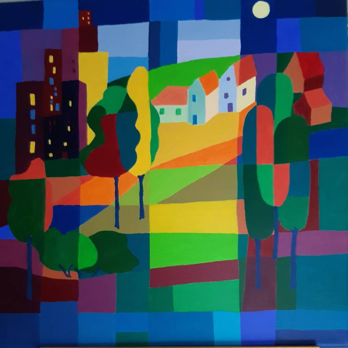 'Landschaft Variation 2' von dirgis1953