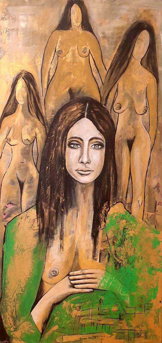 'Frauen im Gold' von  Goga