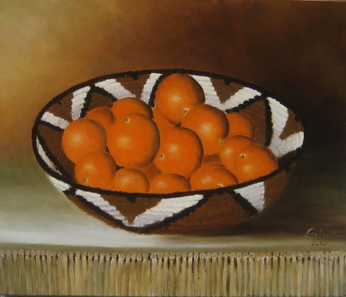 'Nr.131 Apfelsinenkorb' von  Ev Lautsch