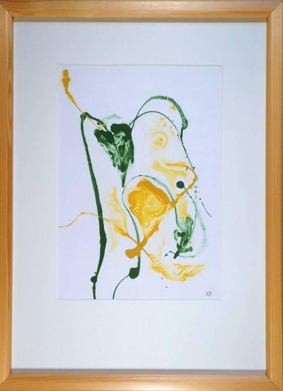 'Grünes Blatt' von  Erwin Bruegger