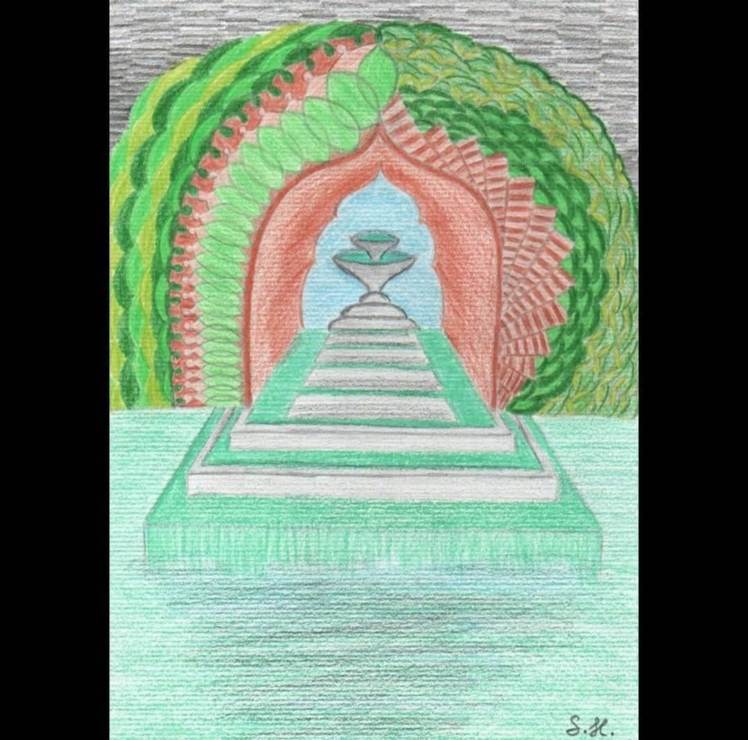 'Das türkise Wasser' von arts stra