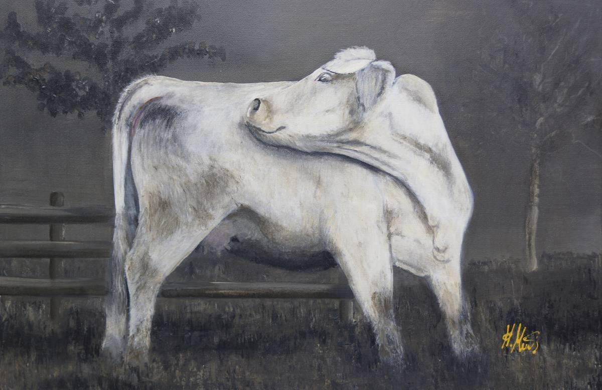 'EINFACH TIERISCH -Kuh' von Coulorpussy