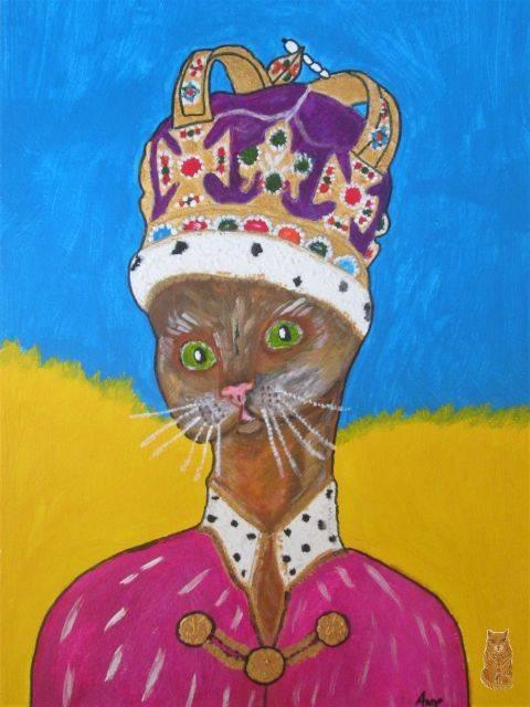'Queen Mila' von  anne phillips