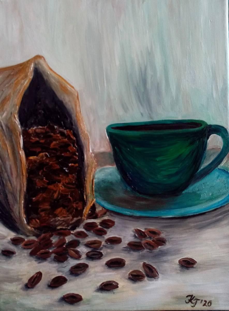 'Kaffeezeit I' von  Kathrin Thesenvitz