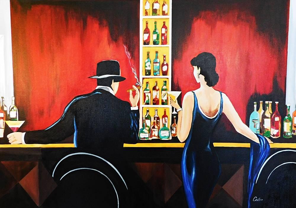 'La boite de nuit' von  Costino
