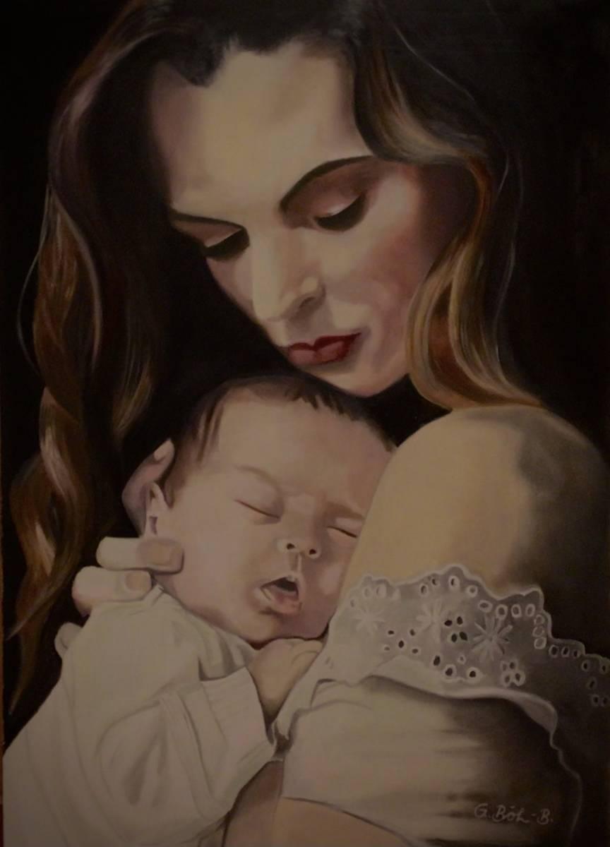 'Mutter mit Säugling' von  Galdino BB