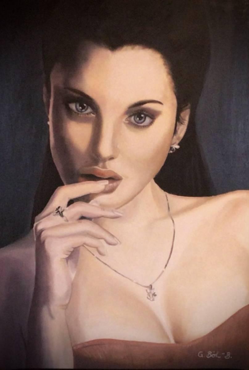 'Frauenporträt' von Galdino BB
