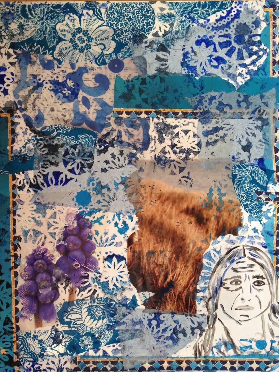 'Indianerblau' von  Fraupingartwork