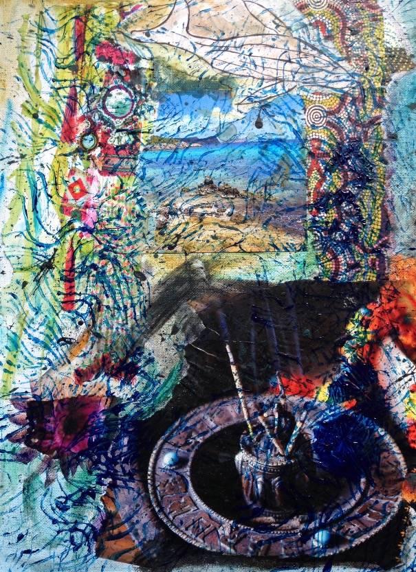 'Insel Sehnsucht' von Fraupingartwork